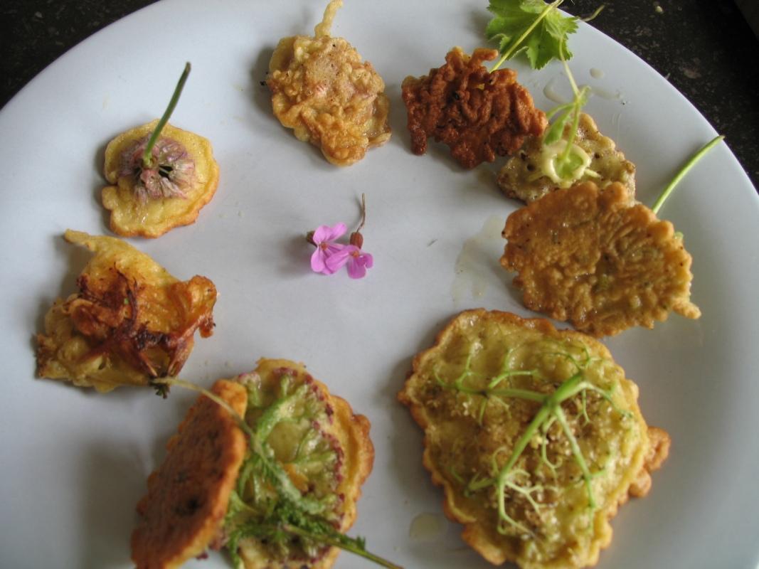 Flower Fritters Urban Herbology